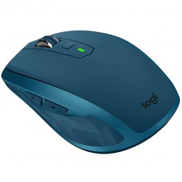 Mouse wireless Logitech MX Anywhere 2S , Laser , 4000 DPI , Turcoaz